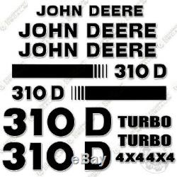 John Deere 310d Kit Decal Stickers Tracto Pelle De Rechange Autocollants 310 D