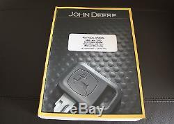 John Deere 318d 320d Chargeuse À Direction À Glissement Manuel D'utilisation Et D'essai De Service Tm11398