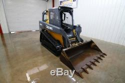 John Deere 323d Track Chargeur Compact, Rops Ouverts, 69hp, 2 Vitesses