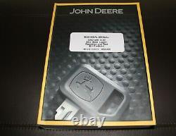 John Deere 329d 333d Mini Chargeuse Service D'exploitation Manuel D'essai Tm11454
