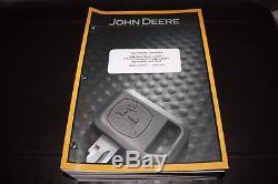 John Deere 332 Skid Steer Ct332 Chargeur Sur Chenilles Compact Manuel D'essai De Service Tm2211