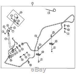 John Deere Oem Numéro De Pièce Kv25965 Faisceau De Câblage Commande À 8 Boutons 325 328