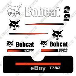 Kit Décalques Pour Chargeuse Sur Chenilles Compacte Bobcat T750 T-750 T 750