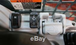 Kubota 2016 Svl 95-2s Cab Chargeuse À Chaînes À Direction À Glissement, Ca / Chaleur