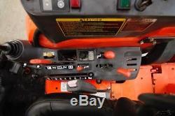Kubota M59 Hst 4wd Tractopelle Tracteur, Attache Rapide Skid Steer, 845 Heures