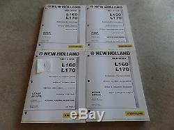 Manuel De Réparation Pour Le Service Après-vente En Usine Du Chargeur New Holland L160 L170 D'oem