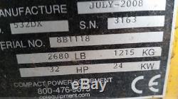 Mini Chargeur À Roues Fixes Boxer 532dx