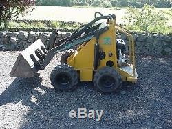 Mini Chargeur Diesel En État De Fonctionnement 07855 255705