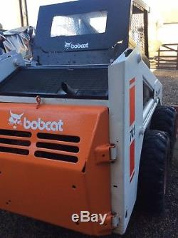 Mini Chargeuse Bobcat 1990 Loader 741 À Durham Sans Tva