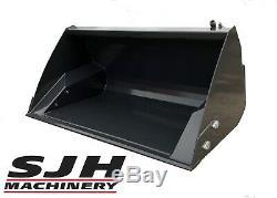 Mini Chargeuse Bobcat Heavy Duty 1.6m Toe Tip Bucket Loading
