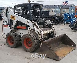 Mini Chargeuse Bobcat S175 2507 Heures