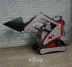 Mini-chargeuse Compacte Sur Chenilles Mini-chargeuse Axpan Ax Pro 5 495 € + Tva Nouveau