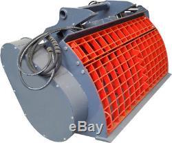 Mixer Bucket Pour Pelle, Chargeur, Chargeuse Et Télescopique