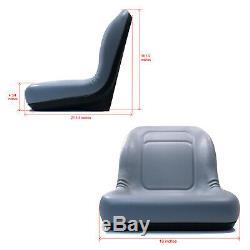 New Gris High Seat Retour John Deere Mini Chargeur 70 125 240 7775 8875