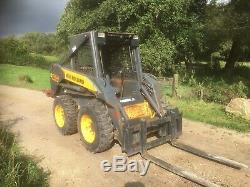 New Holland L160 Mini Chargeuse