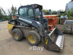 New Holland L218 Skidsteer Mini Chargeur 1505 Heures 2013