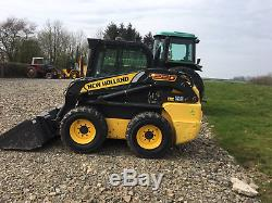 New Holland L220 Skidsteer Mini Chargeur 1300 Heures 2013