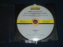 New Holland L230 C238 Niveau 4b Mini Chargeuse Service Shop Réparation CD Manuel
