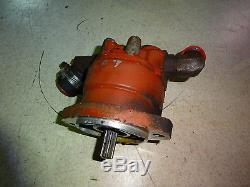 New Holland L783 Hydraulique Pompe À Engrenages Skid Steer Loader L-783 L781 L785