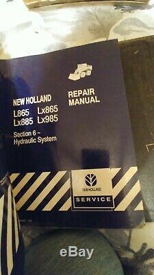 New Holland L865 Lx865 Lx885 Lx985 Mini Chargeuse Boutique Manuel De Réparation
