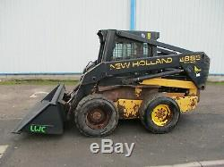 New Holland Lx885 Chargeuse Compacte Skidsteer Chargeur Pelle Pelle 6ft Livraison Large