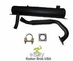 New Kumar Bros Etats-unis Silencieux, Ex Pipe & Clamp Pour Bobcat S130 S150 S160 S175 S185