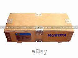 New Kumarbros USA Bobcat S185 Kubota V2003 Complète Cyl Head & Supérieur De Joints