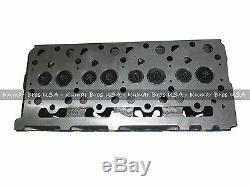 New Kumarbros USA Bobcat S185 Kubota V2203 Complète Cyl Head & Supérieur De Joints
