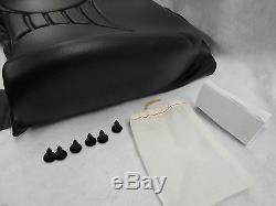 Noir Retour De Remplacement Coussin Pour Milsco V5300 Suspension Seat #lfd