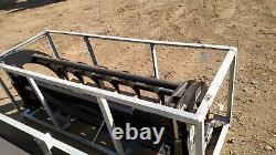 Nouveau 78 Greatbear Great Bear Heavy Grass Fork Grapple Skid Steer Attachment L@@k