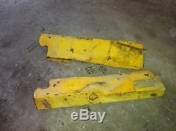 Pare-brise Latéral New Holland Lx885 Set 8875 Chargeur Compact Deere Lx865 L865
