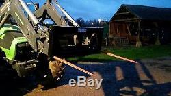 Piquet De Tracteur. Supports Euro 2 Spike Big Bale Transporter Dérailleur