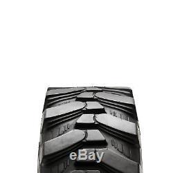 Pneu De Chantier 10-16,5 Pour Chargeuse Compacte Bobcat / Volvo / Cat / Case Gehl