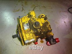Pompe De Transmission Hydrostatique New Holland Lx885 Lx865 L865 Chargeuse À Direction À Glissement