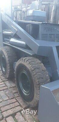 Puissance Skidsteer Fab Skid Steer Remorque Construit En Godet Remorque 1m L 7ft