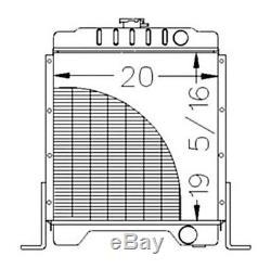Radiateur Chargeur Mini Case Neuf Pour Moteurs Diesel 1840 Et 1845c 301877a2