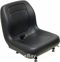 Siège Noir Ford New Holland À Montage Sur Châssis Compatible Avec L120, Ls125, Ls140, Ls150, Ls160 #qh