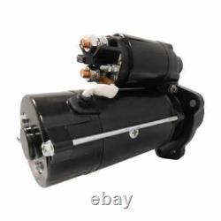 Starter Iskra Plgr (18483) Compatible Avec John Deere 4020 7700 Bobcat White