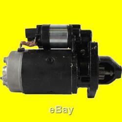 Starter Pour New Holland Chargeur À Roues Fixes L781 L783 L785 L865 Ls180 Lx865 Lx885