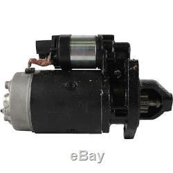 Starter Pour New Holland Skid Steer Loader L781 L783 L785 L865 Ls180 Lx865 Lx885