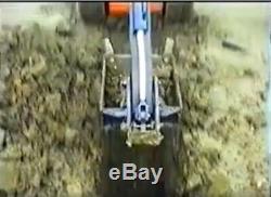 Starter Swing Kit Arm Backhoe Attachement Pelle Mini Chargeuse Steer