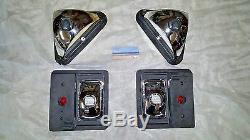 Steer T110 Bobcat Extérieur Head Tail Light Kit C / W Ampoules