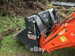 Suton 4 En 1 Tracteur Godet Chargeur Quick Release Mini Chargeur Tracteur Compact