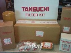 Takeuchi Tb228, Tb235, Tb250 Filtre Annuel Kit Oem