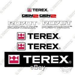 Terex R070t Decal Kit Skid Steer