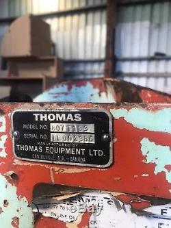 Thomas Skid Steer T133 Chargeur Chargeuse À Direction À Glissière