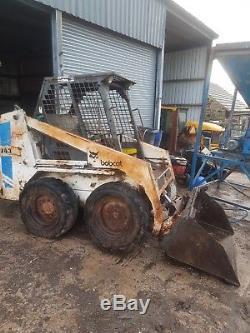 Tracteur Pelle Chargeuse Bobcat