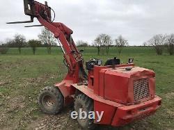Weidemann Loader Skid Steer Not Bobcat Digger Dumper Rough Terrain Forklift